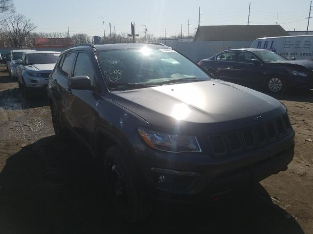 Salvage cars for sale from Copart Hammond, IN: 2019 Jeep Compass TR