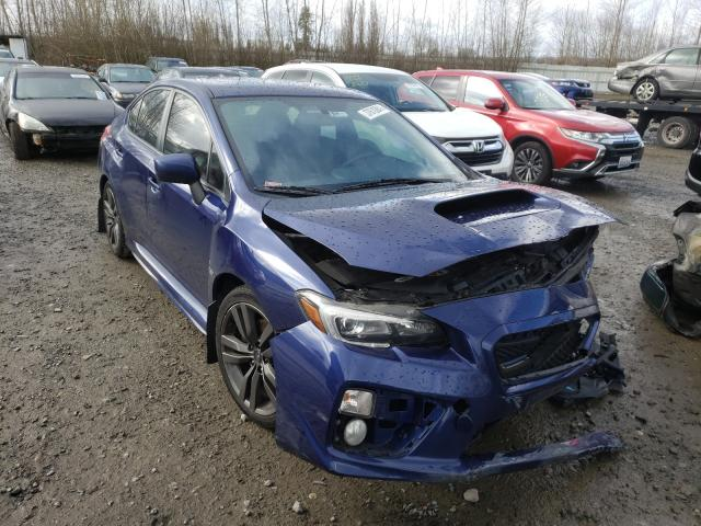 Salvage cars for sale from Copart Arlington, WA: 2016 Subaru WRX Limited