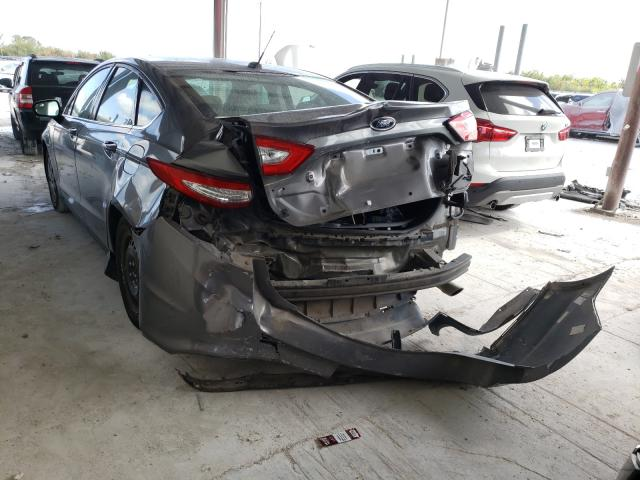 2014 FORD FUSION S - Right Front View