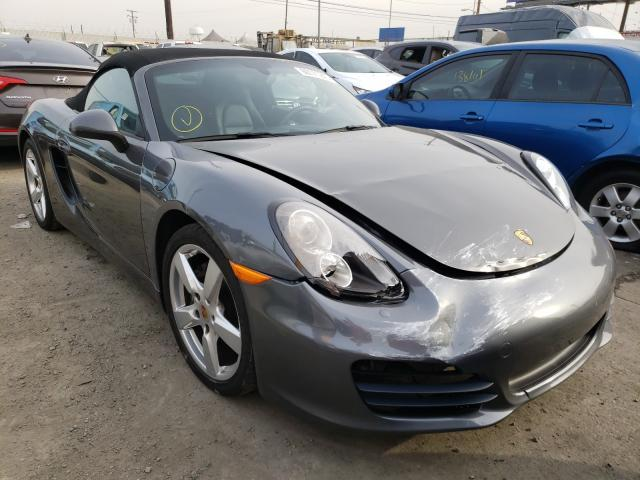 Porsche salvage cars for sale: 2016 Porsche Boxster