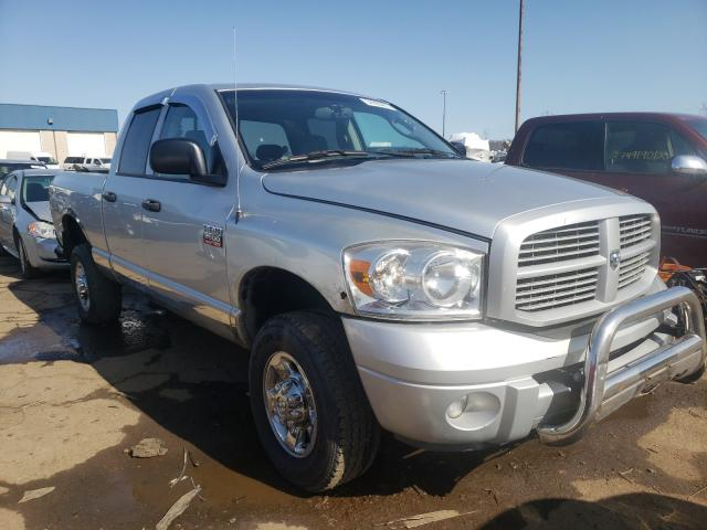 Salvage cars for sale from Copart Woodhaven, MI: 2008 Dodge RAM 2500 S