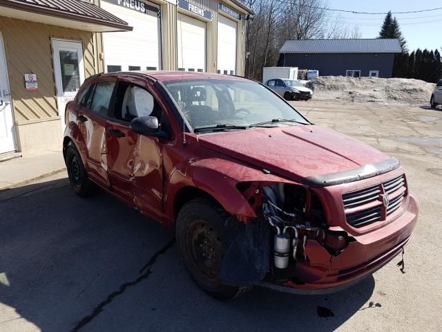 Salvage cars for sale from Copart Montreal Est, QC: 2007 Dodge Caliber SX