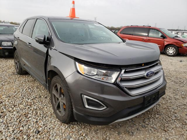 Salvage cars for sale from Copart Memphis, TN: 2015 Ford Edge SEL