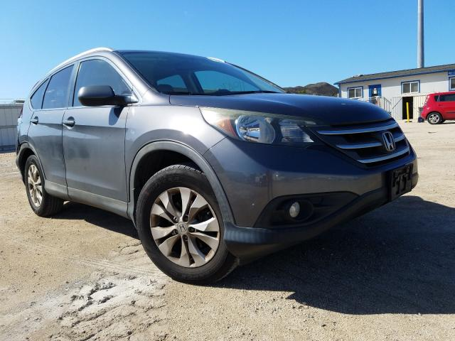 Salvage cars for sale from Copart Kapolei, HI: 2014 Honda CR-V EXL