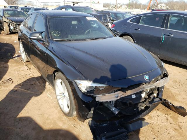 Salvage cars for sale from Copart Grantville, PA: 2017 BMW 320 I