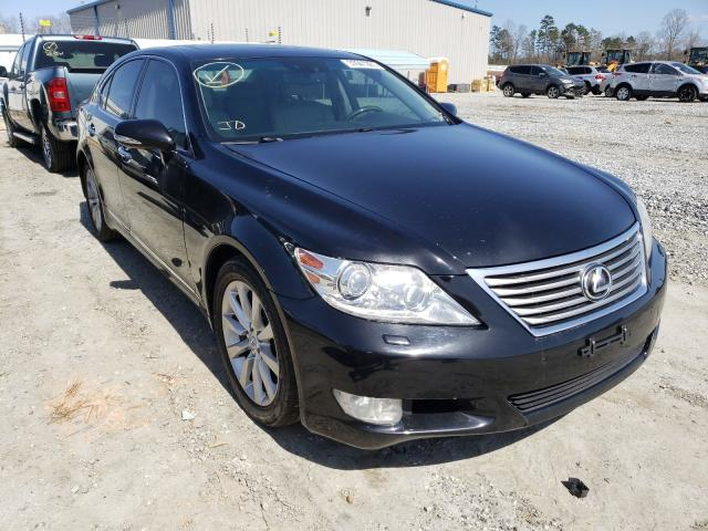 Salvage cars for sale from Copart Spartanburg, SC: 2012 Lexus LS 460