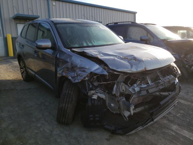 Salvage cars for sale from Copart Chambersburg, PA: 2019 Mitsubishi Outlander
