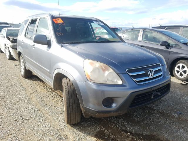 Salvage cars for sale from Copart Anderson, CA: 2006 Honda CR-V SE