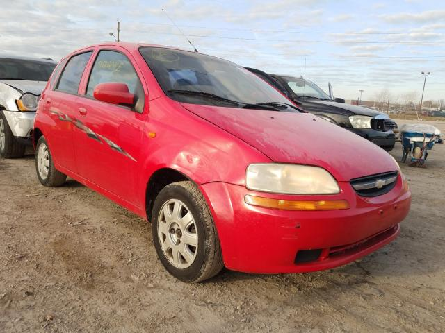 Salvage cars for sale from Copart Indianapolis, IN: 2004 Chevrolet Aveo LS