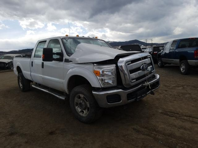 Salvage cars for sale from Copart Helena, MT: 2015 Ford F350 Super
