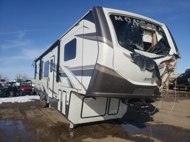 Miscellaneous Equipment salvage cars for sale: 2020 Miscellaneous Equipment 5th Wheel