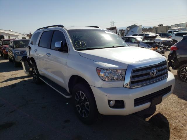 Salvage cars for sale at Tucson, AZ auction: 2015 Toyota Sequoia PL