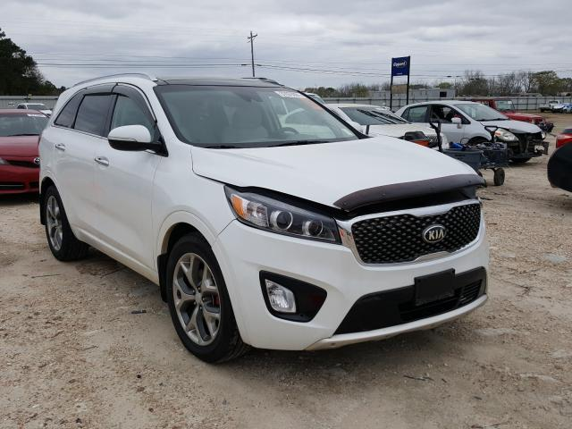 Salvage cars for sale from Copart Newton, AL: 2018 KIA Sorento SX