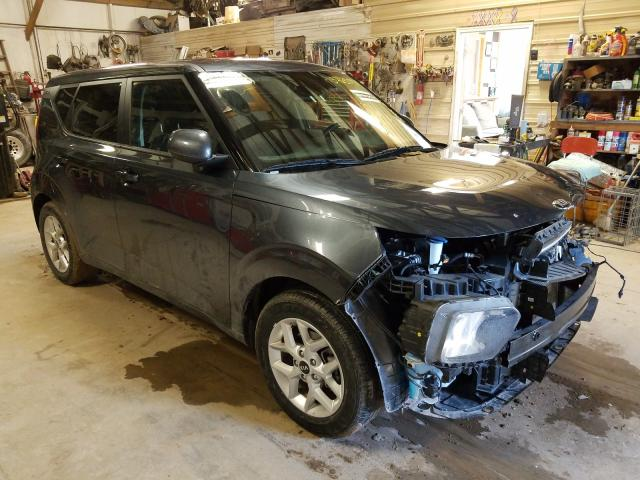 Salvage cars for sale from Copart Billings, MT: 2020 KIA Soul LX