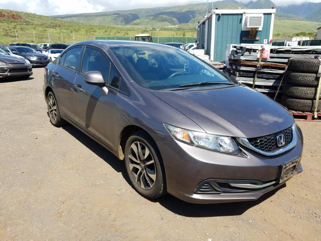 Salvage cars for sale from Copart Kapolei, HI: 2013 Honda Civic EX