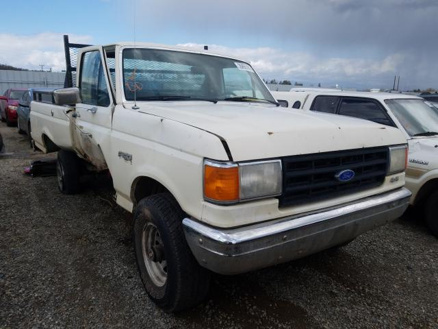 Salvage cars for sale from Copart Anderson, CA: 1988 Ford F150