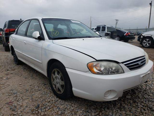 KIA Spectra salvage cars for sale: 2003 KIA Spectra