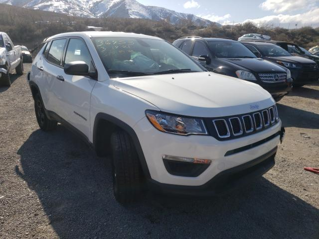 Salvage cars for sale from Copart Reno, NV: 2020 Jeep Compass SP
