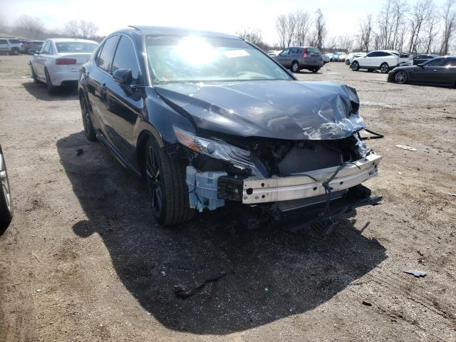 Salvage cars for sale from Copart Baltimore, MD: 2019 Toyota Camry XSE