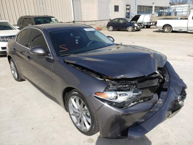 Alfa Romeo salvage cars for sale: 2017 Alfa Romeo Giulia Q4