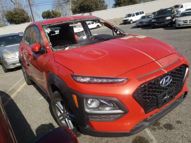 Salvage cars for sale from Copart Colton, CA: 2019 Hyundai Kona SE