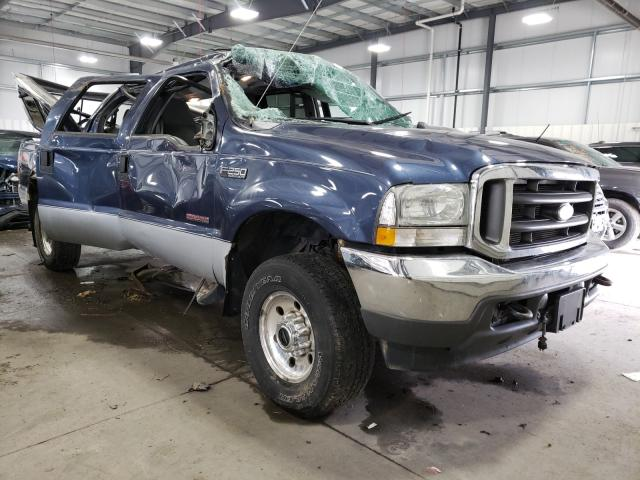 Salvage cars for sale from Copart Ham Lake, MN: 2004 Ford F250 Super