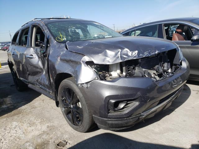 Nissan salvage cars for sale: 2017 Nissan Pathfinder