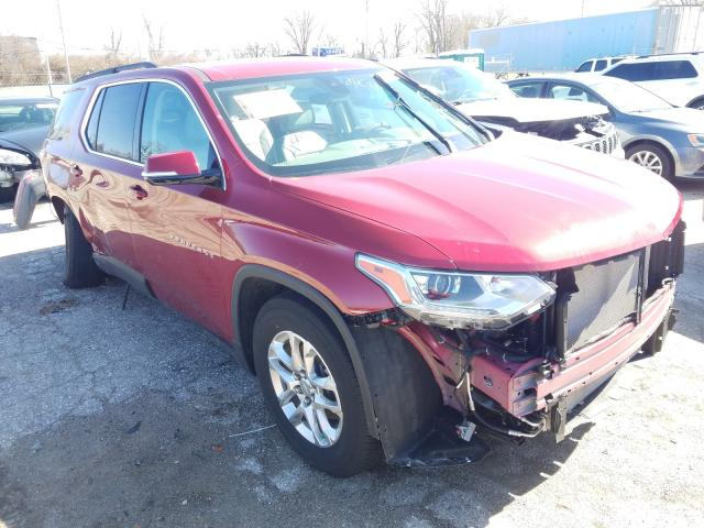 Salvage cars for sale from Copart Bridgeton, MO: 2020 Chevrolet Traverse L