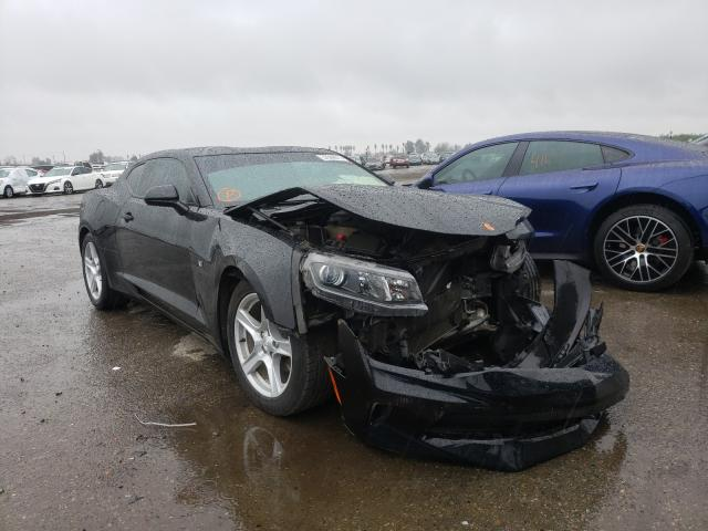 Salvage cars for sale from Copart Fresno, CA: 2016 Chevrolet Camaro LT