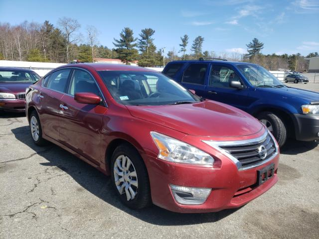 Salvage cars for sale from Copart Exeter, RI: 2013 Nissan Altima 2.5