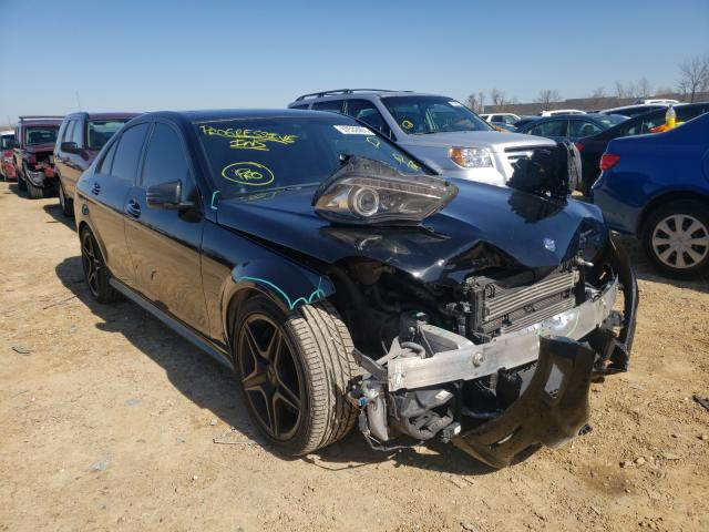 Salvage cars for sale from Copart Bridgeton, MO: 2014 Mercedes-Benz C 63 AMG