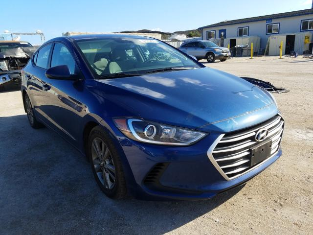 Salvage cars for sale from Copart Kapolei, HI: 2017 Hyundai Elantra SE