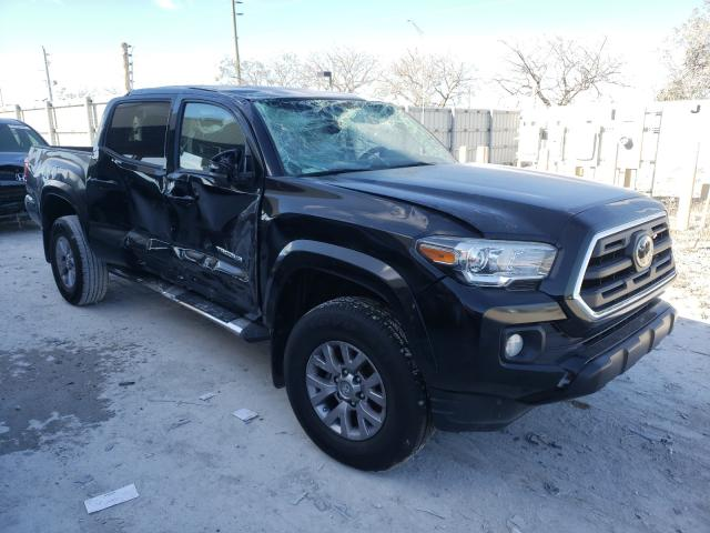 Salvage cars for sale from Copart Homestead, FL: 2018 Toyota Tacoma DOU
