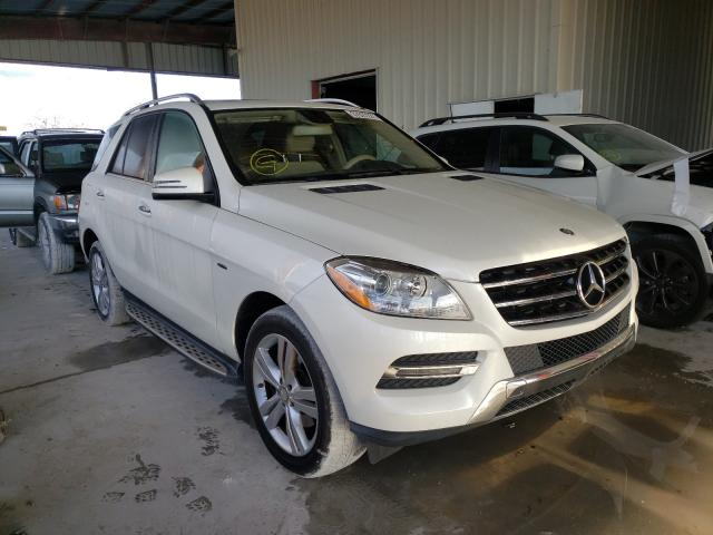 Salvage cars for sale from Copart Homestead, FL: 2013 Mercedes-Benz ML 350 BLU