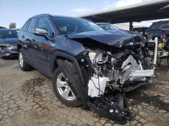 Salvage cars for sale from Copart Hayward, CA: 2021 Toyota Rav4 XLE