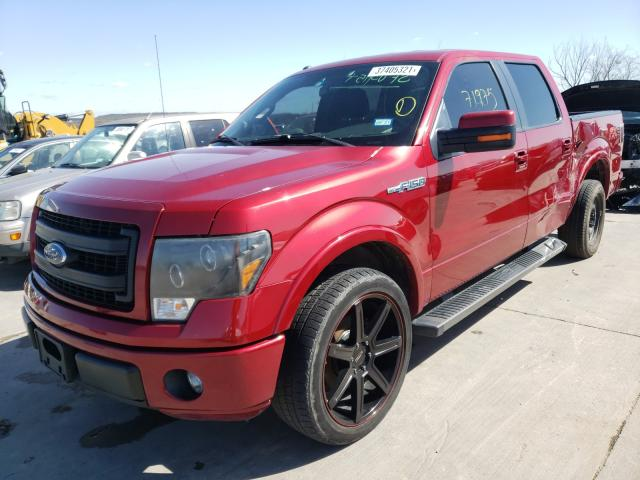 2013 FORD F150 SUPER - Left Front View