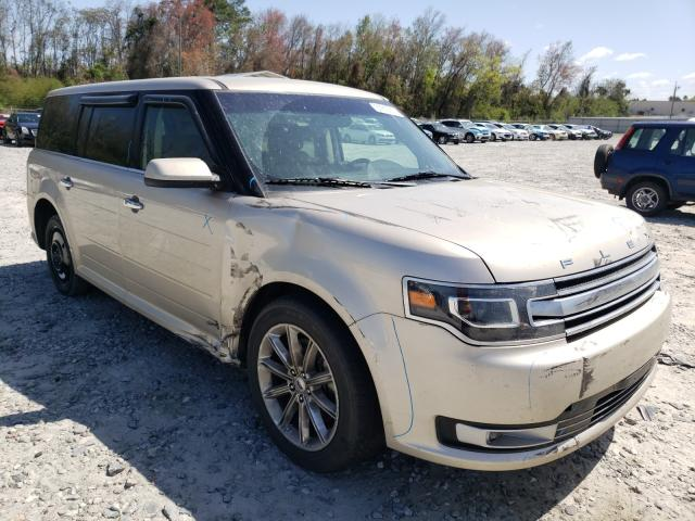 Salvage cars for sale from Copart Tifton, GA: 2017 Ford Flex Limited