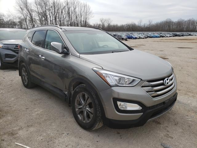 Salvage cars for sale from Copart Milwaukee, WI: 2015 Hyundai Santa FE S