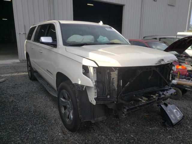 Salvage cars for sale from Copart Jacksonville, FL: 2015 Chevrolet Suburban K