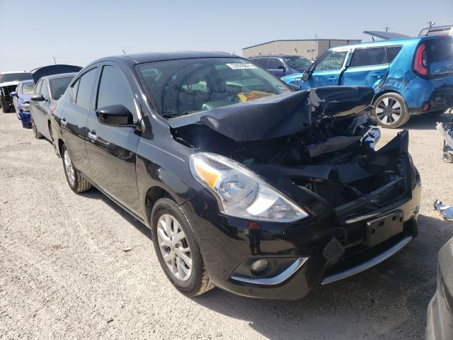 Salvage cars for sale from Copart San Antonio, TX: 2016 Nissan Versa S