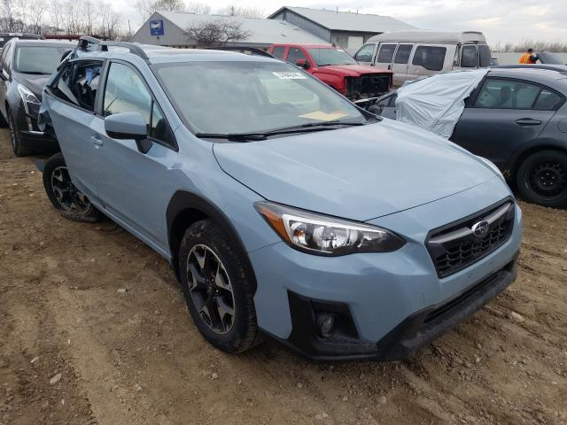 Salvage cars for sale from Copart Madison, WI: 2019 Subaru Crosstrek