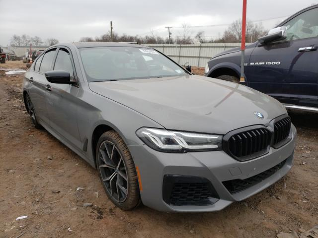 BMW 540 XI salvage cars for sale: 2021 BMW 540 XI