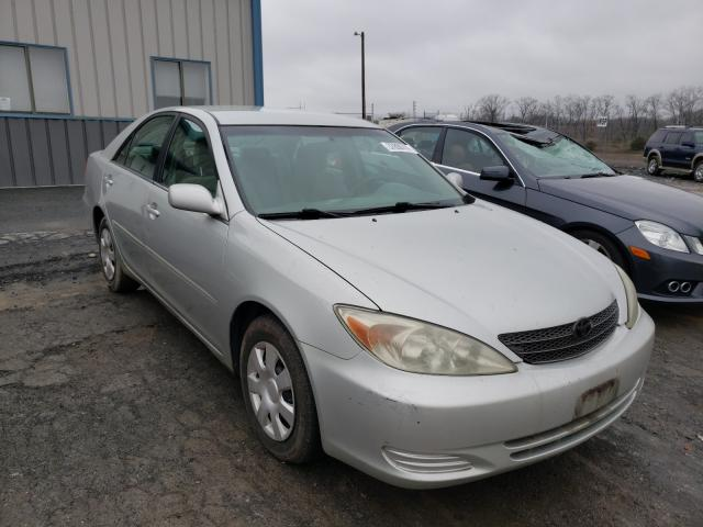 Salvage cars for sale from Copart Chambersburg, PA: 2002 Toyota Camry LE
