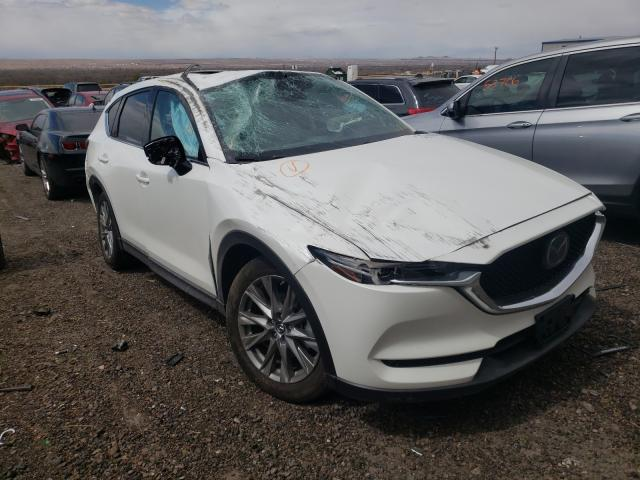Salvage cars for sale from Copart Albuquerque, NM: 2020 Mazda CX-5 Grand Touring