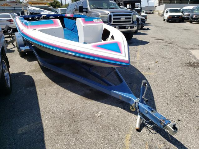 Carver salvage cars for sale: 1992 Carver Boat With Trailer