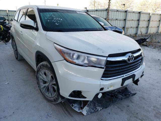 Salvage cars for sale from Copart Homestead, FL: 2016 Toyota Highlander