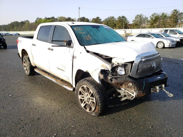 Salvage cars for sale from Copart Shreveport, LA: 2012 Toyota Tundra CRE