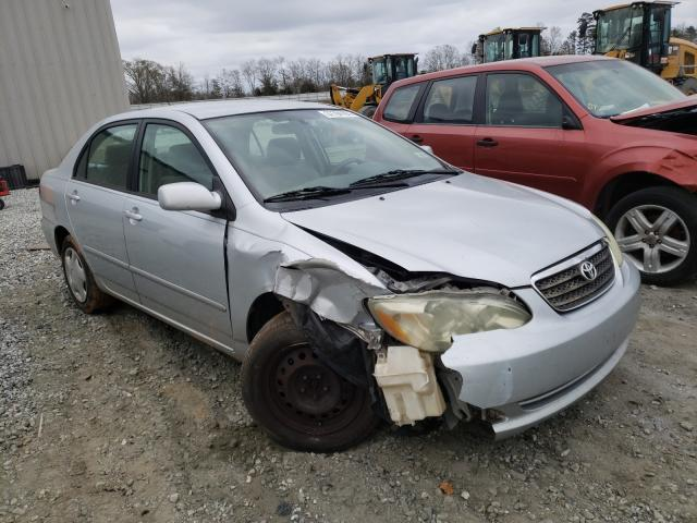 Salvage cars for sale from Copart Spartanburg, SC: 2006 Toyota Corolla CE