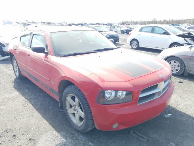 Salvage cars for sale from Copart Montreal Est, QC: 2009 Dodge Charger SX