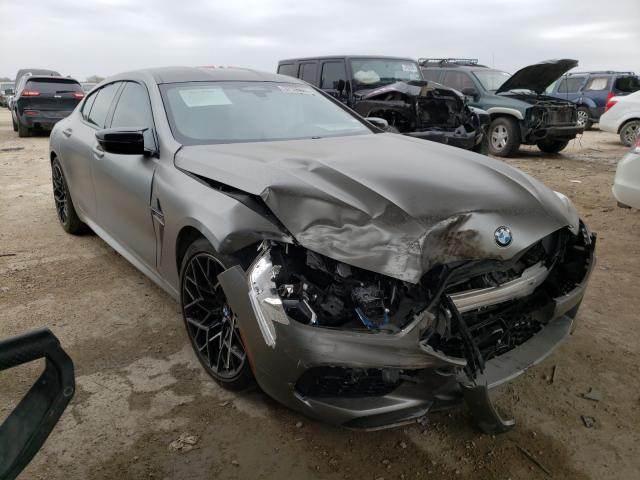 Salvage cars for sale from Copart Temple, TX: 2020 BMW M8